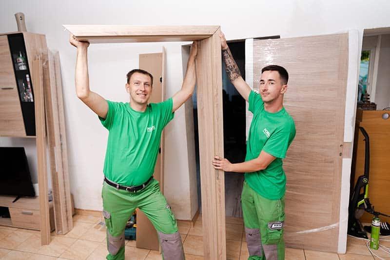 CPL beltéri ajtó keret készítése
