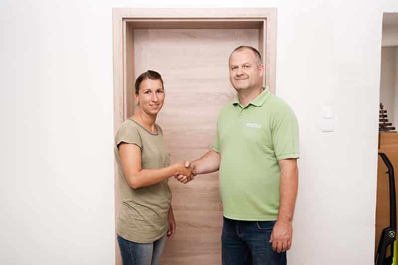 Méretre készült kopásálló CPL ajtó