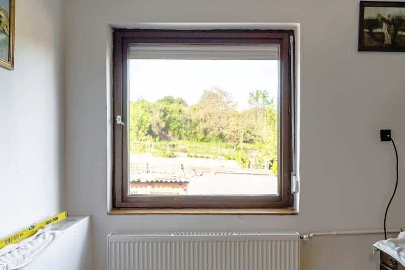 Felújítás előtti ablak